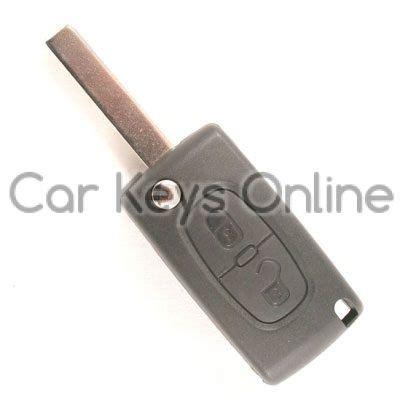 peugeot 307 key car peugeot 207 307 2 button remote key