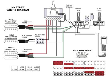 wiring diagram dimarzio true velvet celestion wiring