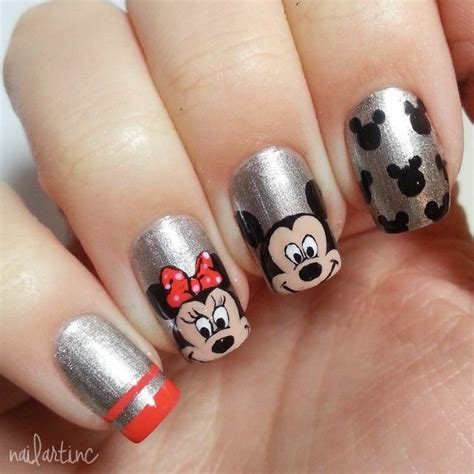 easy nail art by cutepolish 17 best images about disney characters on pinterest nail