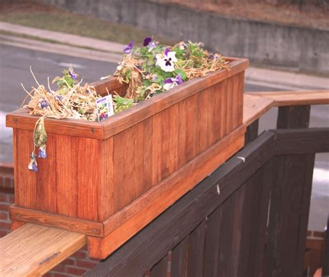 Planter Boxes For Balcony Railings by 17 Best Images About Garden Planter Ideas On Window Boxes Railing Planters And