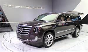 Escalade Cadillac 2015 2015 Cadillac Escalade More Power Luxury Efficiency