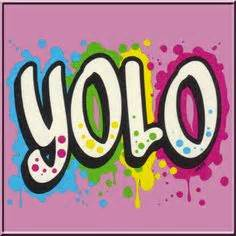 T Shirt Kaos Yolo Logo yolo you only live once by logo graphic t shirt