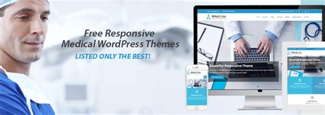 wordpress theme free hospital top 10 free medical wordpress themes 2018 8degree themes