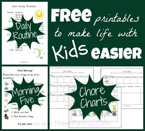 printable daily schedule chart our homeschool schedule with free printables to make life