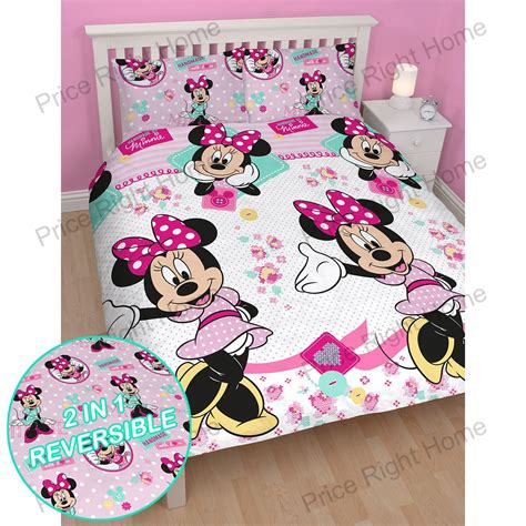 minnie mouse bedding and curtains minnie mouse bedroom range twin double duvet cover