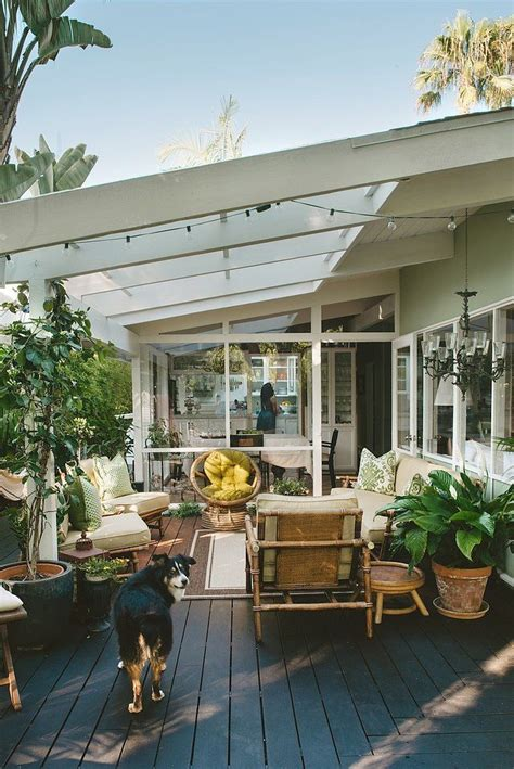patio space pinch proof 6 green rooms that will inspire modern