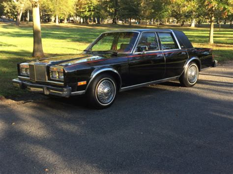 1984 Chrysler Fifth Avenue by 1984 Chrysler Fifth Avenue Diplomat Gran Fury 5th Ave