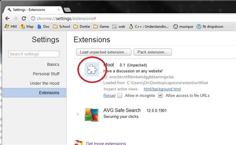 chrome extension settings icons chrome extension image of extension on settings