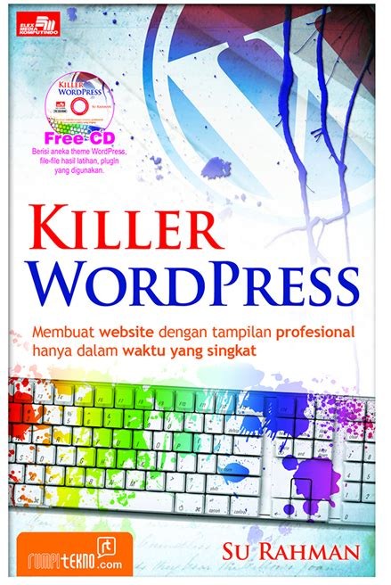 buku panduan membuat website dengan wordpress buku wordpress belajar wordpress tutorial wordpress