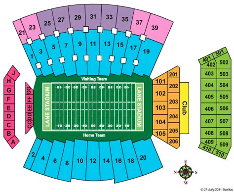 tech stadium seating capacity virginia tech football stadium seating chart