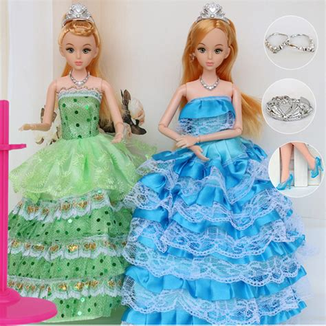design dress toy 12 moveable joint body princess babe doll 30cm 11 quot wedding