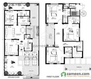 Spanish Villa House Plans floorplans of royal residencia lahore zameen com