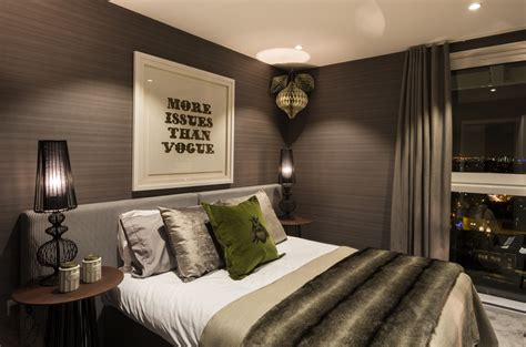 london bedroom design striking three bedroom duplex exuding a vivid personality