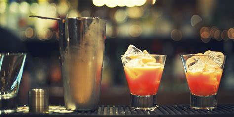 alcoholic drinks at a bar twelve recommended winter cocktails to spice up your