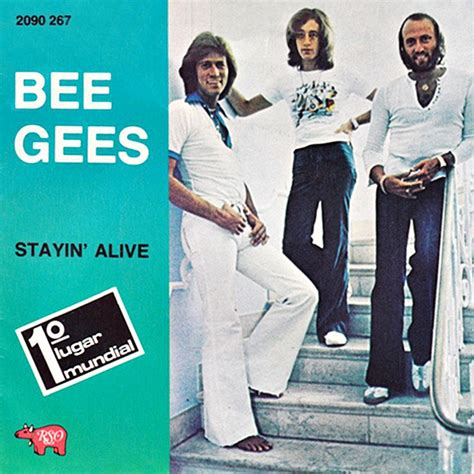 stayin alive bee gees bee gees on emaze