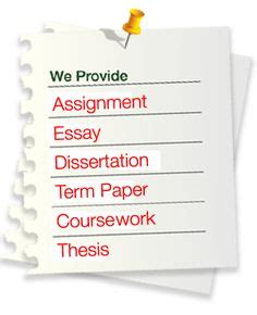 Custom Dissertation Editing Services by Homework Assignment Service On