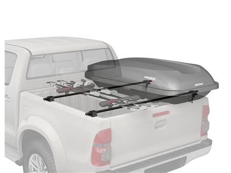 yakima truck bed rack yakima bedrock truck bed rack 4 pack in tree fort bikes