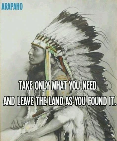 native indian quotes land