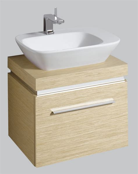 Countertop Shelf Unit by Twyford Vello Countertop 570mm Basin With 600mm Shelf And Unit