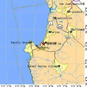 seaside california map seaside california ca population data races housing