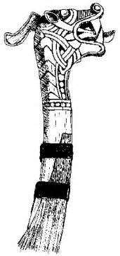 viking figurehead template viking ship construction