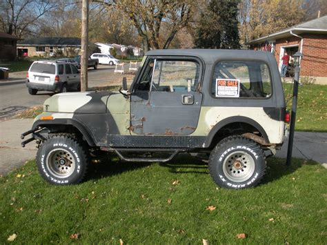 jeep cj 1985 jeep cj7 4x4 with 1995 jeep yj tub