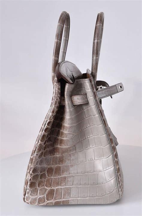 Mes Birkin Himalaya Mini hermes himalayan nilo crocodile 35cm birkin bag limited edition janefinds hermes wallet for