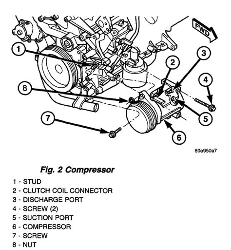 Chrysler Town And Country Air Conditioning Problems by 97 Dodge Caravan 3 0 Engine Diagram Get Free Image About