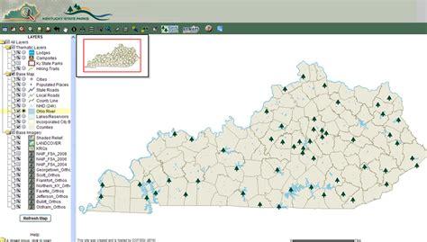 kentucky golf map kentucky state parks map jorgeroblesforcongress