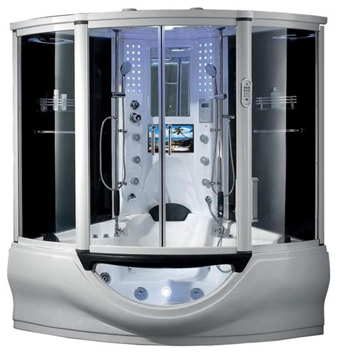 Steam Shower Bathtub by The Superior Steam Shower Sauna With Whirlpool Bathtub Steam