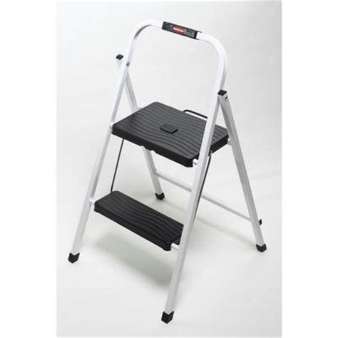 Home Depot Step Stool by Rubbermaid 2 Step Lightweight Step Stool Discontinued Rm Hsp2 The Home Depot