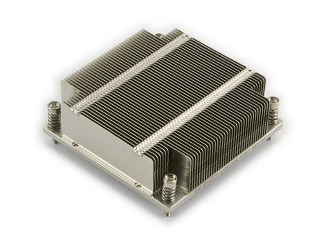 Passive Heat Sink by Supermicro Snk P0037p 1u Passive Cpu Heat Sink