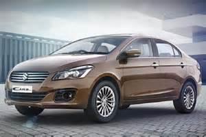 maruti suzuki car new model maruti ciaz 2017 price launch specs mileage changes