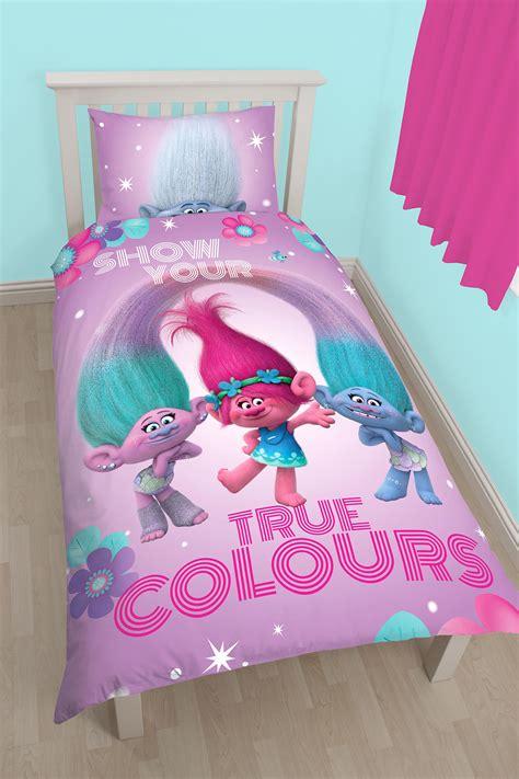 bettdecke rosa dreamworks trolle leuchtende einzeln bettdecke bettbezug