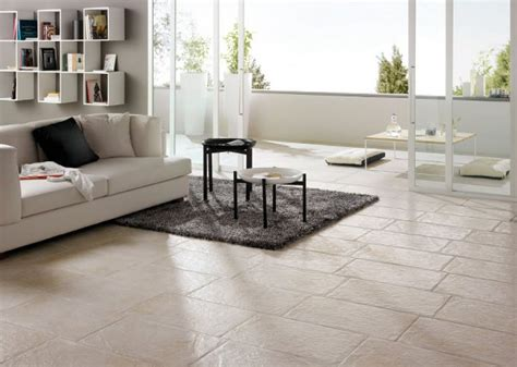Tile Flooring Living Room The Decorative Tiles Effect In A Modern Interior Design Interpretation Motiq Home