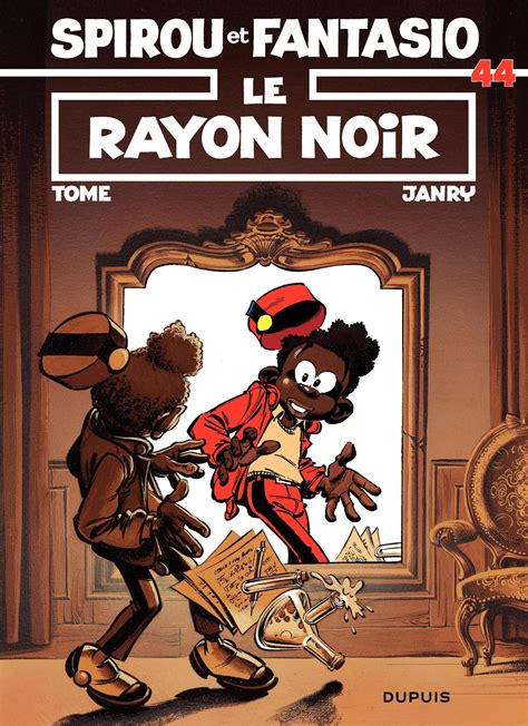 Komik 4 Petualangan Spirou Fantasio le rayon noir spirou et fantasio tome 44 janry et tome
