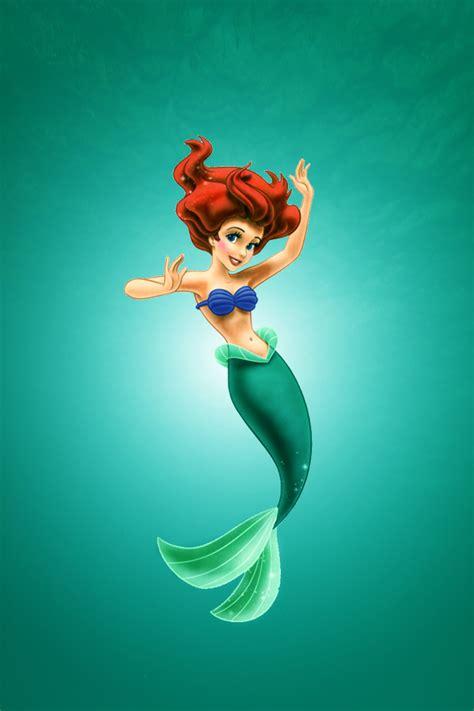 little mermaid disney cartoon fishes hd wallpaper little mermaid wallpaper iphone wallpapersafari