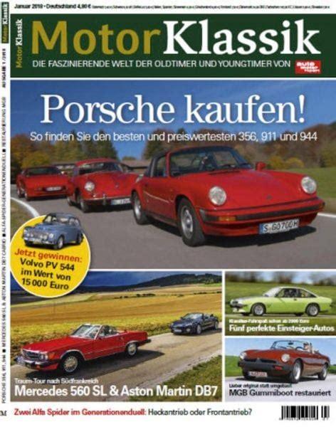 Auto Motor Sport Klassik by Auto Motor Sport Motor Klassik No 01 Januar 2018 Pdf