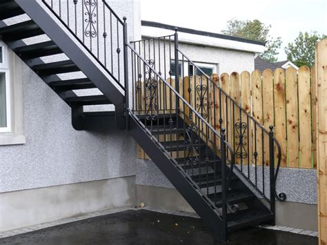 outdoor steel stairs external steel stairs external staircase outdoor staircase eric interior