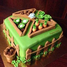 Garden Cakes On Pinterest Vegetable 1000 Ideas About Vegetable Garden Cake On Pinterest Allotment Cake Cakes And Vegetable Cake