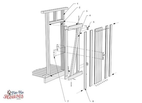frame door step  step construction guide