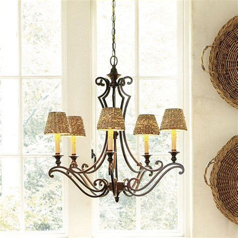 Seagrass Chandelier Shade Woven Seagrass Chandelier Shade