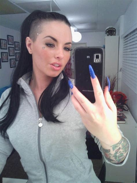 christy mack no hair christy mack hair pinterest christy mack