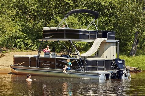 Furniture Mn by Premier Introduces Two Story Escalante Pontoon Company