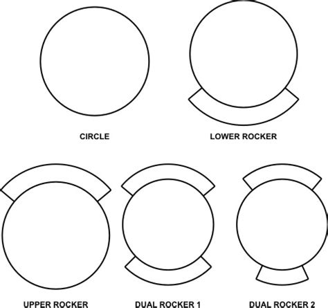 rocker patch template designing your embroidered patches