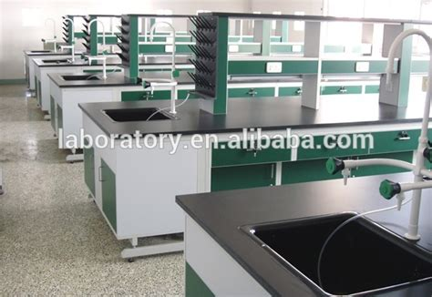 lab bench material hi tech school pp material plastic wall mounted lab bench