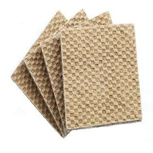 rug pads for less rug pads for less dura grip 174 heavy duty 2 quot square 3 8 quot thick non slip rubber no glue or nails