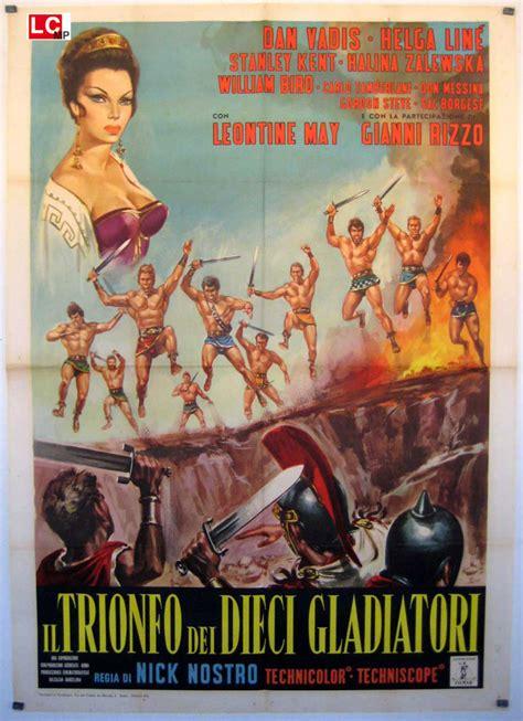film gladiatori quot i dieci gladiatori quot movie poster quot diez gladiadores los