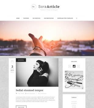 free blogger templates for articles sora article responsive blogger template 2014 free blogger