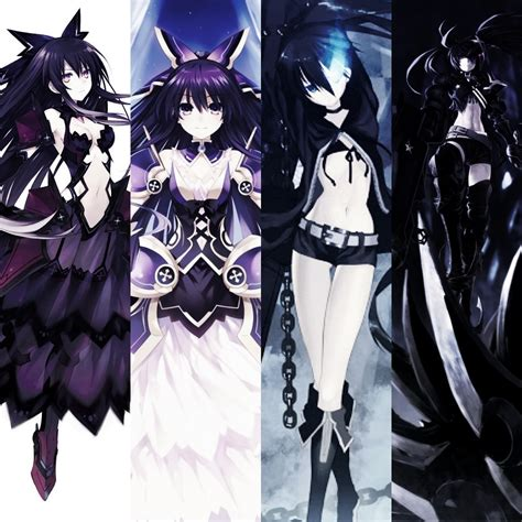 wallpaper dark tohka tohka dark tohka vs brs ibrs by noir black shooter on